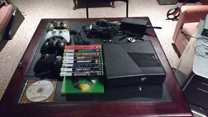 Xbox 360 w/ 4 controllers, games and accessories