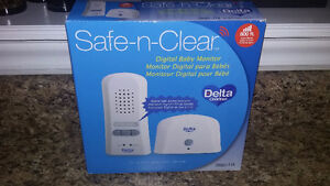 Gently used Monitor safe n clear by Delta children