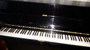 Piano wagner neuf lacquer noir