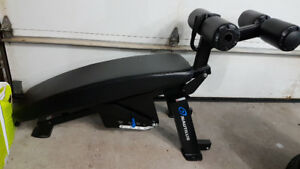 NAUTILUS COMMERCIAL ADJUSTABLE ABDOMINAL BENCH ($1900 NEW)