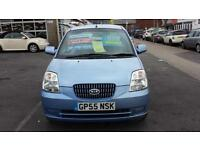 2005 KIA PICANTO 1.1 LX Automatic 5 Door From GBP2,495 + Retail Package
