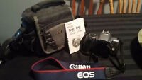 film camera EOS Rebel K2 With Camera case and manual