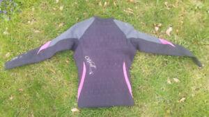 O'Neil swim shirt wetsuit top girls