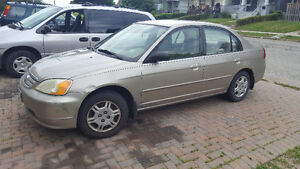2002 Honda Civic Standard Sedan