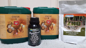 Coco plant nutrients, root enhancer, root inoculant - best offer