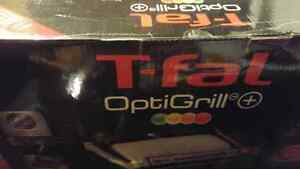 T-fal Optigrill + Grills ,brand new in box
