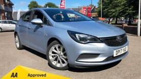 2017 Vauxhall Astra 1.4T 16V 125 Design 5dr Manual Petrol Hatchback