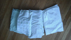 cotton and flannel crib fitted sheets