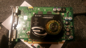 EVGA graphica card.  Best offer