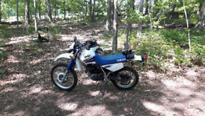 Road licensed XT350 in great shape for sale
