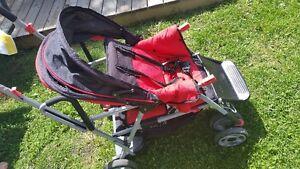 Caboose stroller
