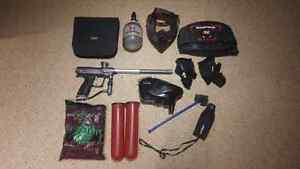 Complete paintball package
