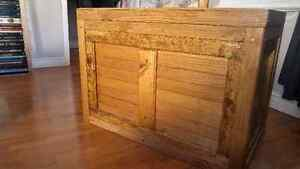 Large Trunk wooden chest handmade ash and pine Peterborough Peterborough Area image 1