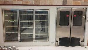 Portes vitrées pour chambre froide