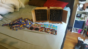 Sealed packs of pogs and slammers new