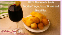 Nigerian snacks/finger foods and healthy drinks