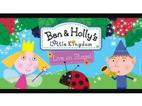 4 X Front Row Ben & Holly Tickets - Cardiff