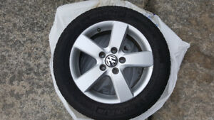 Michelin Premier A/S tires (4) with rims