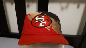 Authentic San Francisco 49ers Splash Snapback Logo Athletic