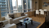 Downtown 2 Bedroom Furnished Suite next to Union Financial Area
