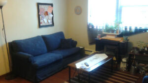 Room for sublet in two-bedroom apartment near downtown Halifax