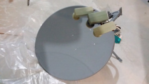 Satellite Dish with Dual LNB