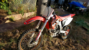 Honda CRF450R Geraldton Geraldton City Preview