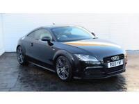 2013 Audi TT 2013 13 Audi TT 2.0 TDI Black Edition Quattro 170 BHP Diesel black