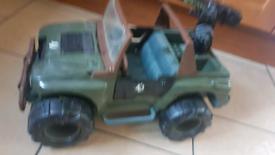 Gi joe jeep retro 1993
