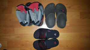 Size 12, 13 and 1 Boy Shoes Lot - 3 Pairs for Only $15
