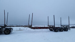 2000 Peerless Hayrack Log Trailer/bunks/logging/trade