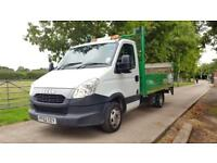 Iveco Daily C Class 2.3 TD 35C13 MWB TAIL LIFT DROPSIDE 62 REG 136K