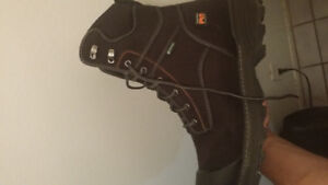 Size 13 Timberland steel toe boots  $120