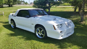 "OFFERS  ""SUPER NICE"" 1983 Ford Mustang GLX 5.0L Convertible"
