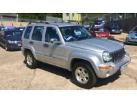 Jeep Cherokee 2.5CRD ( 141bhp ) 4X4 Limited