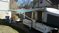 Fleetwood Colman 12ft tent trailer