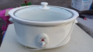 LARGE OVAL SLOW COOKER