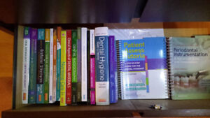 Vancouver College of Dental Hygiene Full Current Text Book Set