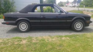 1988 BMW 325i E30 Convertible loaded
