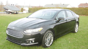 2014 Ford Fusion noir
