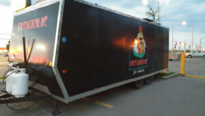 Used food trailer  mobile (Ready to Jump right into business