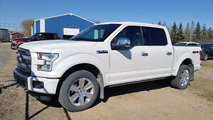 2015 Ford F-150 SuperCrew PLATINUM 4x4 Pickup Truck