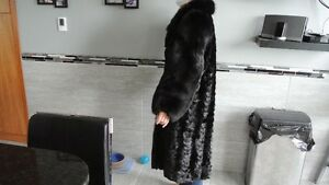 FUR MINK COAT FULL LENGTH Prince George British Columbia image 3