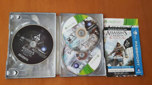 Xbox 360 Games - Assassin's Creed IV, Diablo 3, DarkSouls 2