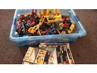 Large box of Lego technic 9Kg
