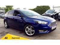 2017 Ford Focus 1.0 EcoBoost Titanium (Nav) 5d Manual Petrol Hatchback
