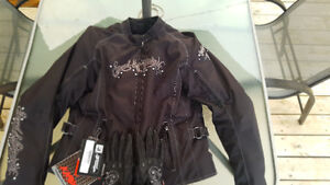 """Like New Speed and Strength """"To The Nines"""" Ladies XL Motorcycle"""