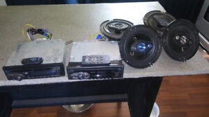 2 stereos and 4 speakers