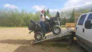 Fully Built, Serviced, & Decked Out Suzuki 700 King Quad!
