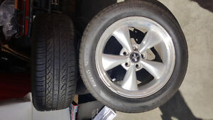 Mustang rims/tires and parts